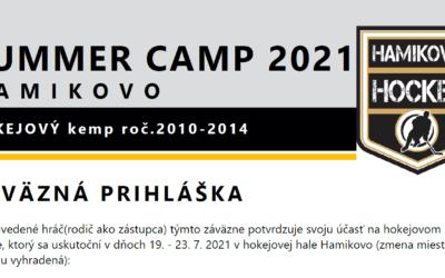 Summer Camp 2021 Hamikovo
